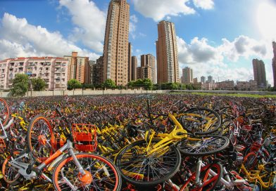 Las bicicletas que devoran a China
